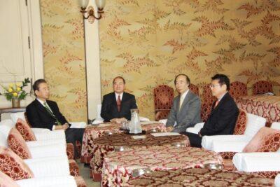 2012年11月29日(木) 三党実務者協議に出席