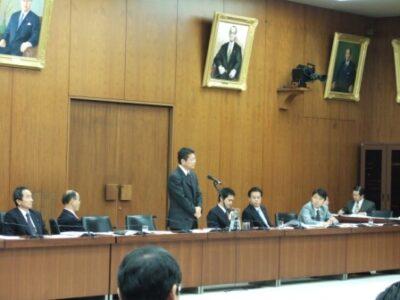 2006年11月28日(火) 財務金融委員会にて質問