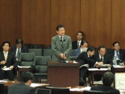 2006年12月7日(木) 総務委員会にて質問及び答弁に立つ
