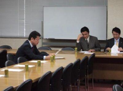 2006年12月13日(水) 民主党『選挙開票作業不正疑惑に関する会議』に出席