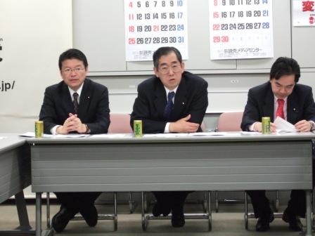 2007年3月6日(火) 政調役員会...