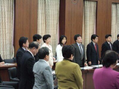 2007年12月4日(火) 衆議院 「消えた厚生年金保険」補償法成立