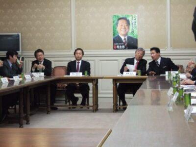 2007年12月5日(水) 民主党「次の内閣に出席