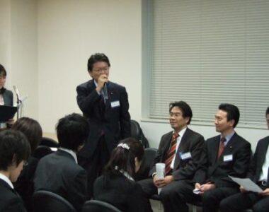 2007年12月6日(木) 学生インターンの説明会に参加