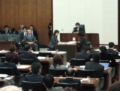2007年12月7日(金) 衆議院 厚生労働委員会に出席