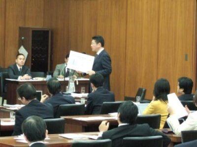 2007年12月12日(水) 衆議院 厚生労働委員会にて質疑