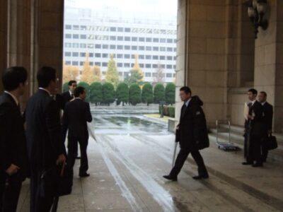 2007年12月13日(木) 社会保険庁倉庫の視察に参加