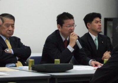 2007年12月18日(火) 民主党 総務・厚労部門合同部門会議に出席