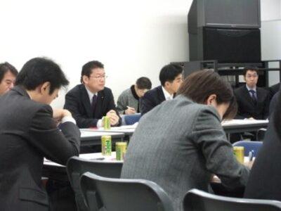 2007年12月25日(火) 民主党 総務・厚労部門合同部門会議に出席