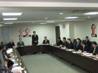 2009年3月19日(木)  民主党の政治改革案を協議