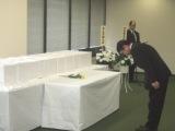 2009年12月10日(木) フィリピン戦没者遺骨拝礼式にて挨拶