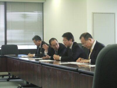 2009年12月14日(月) 社会保険庁課長会議に出席
