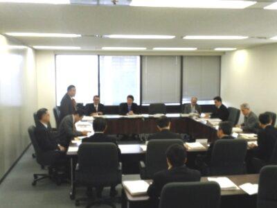 2009年12月15日(火) 日本年金機構理事予定者等打ち合わせ