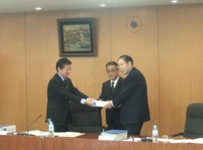 2009年12月17日(木) 最後の日本年金機構設立委員会開催