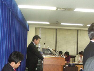2009年12月28日(月) 社会保険庁に関する記者会見をしました