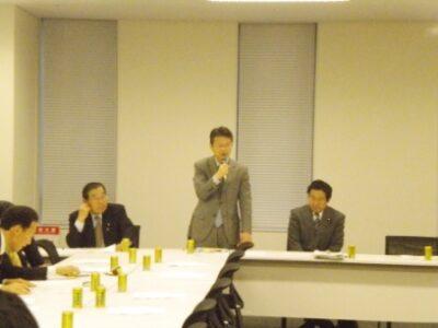 2011年12月2日(金) 被用者年金一元化の検討状況についてヒアリング