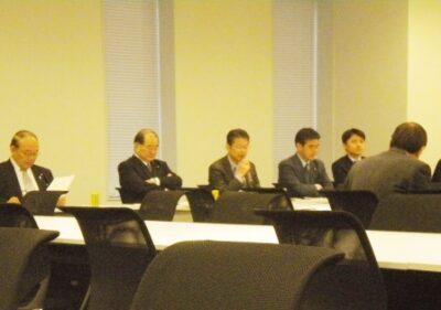 2011年12月6日(火) 社会保障と税の一体改革調査会役員会が開催されました