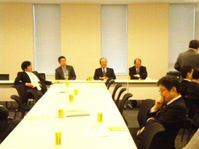 2011年12月13日(火) 税制改正の議論に参加