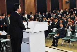 2011年12月21日(水) 両院議員懇談会に出席