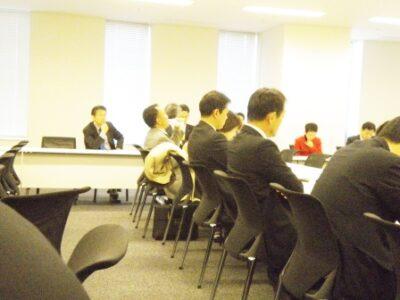 2011年12月27日(火) 行政改革調査会コアメンバー会議開催