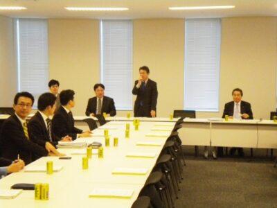 2011年12月27日(火) 厚生労働部門マニフェストの取り組み