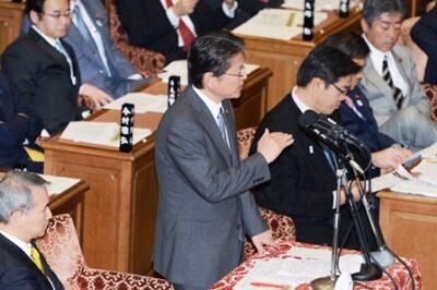 2013年2月7日(木) 予算委員会で質疑に立ちました