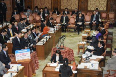 2012年2月22日(水) 予算委員会で質疑に立ちました