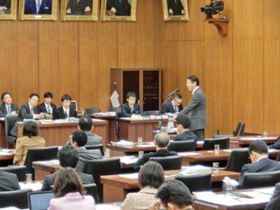 2013年11月22日(金) 厚生労働委員会で質疑