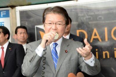 2014年4月12日(土) カネのある組織に引きずられる政治 鹿児島市で街頭演説会