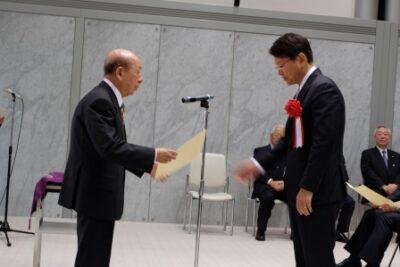 2014年12月17日(水) 当選証書を授与されました