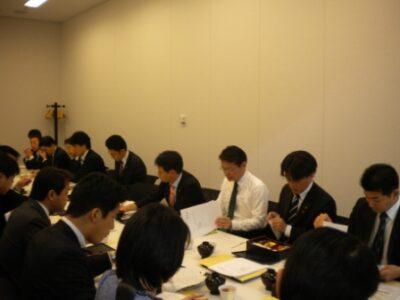 行政刷新プロジェクトチーム役員会に出席