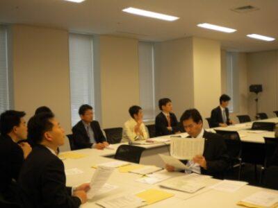 行政刷新プロジェクトチーム総会が開催されました