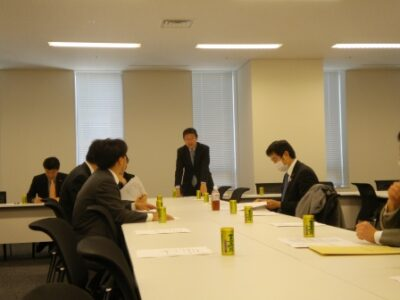 民主党行政刷新プロジェクトチーム役員会開催