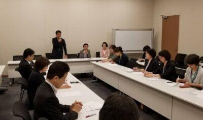 立憲民主党看護議員連盟の設立総会