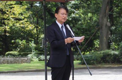 シベリア・モンゴル抑留犠牲者追悼の集いに出席しました