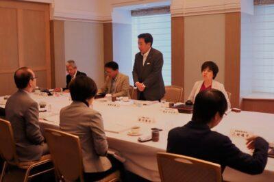 日本生活協同組合連合会と立憲民主党との政策懇談会に出席