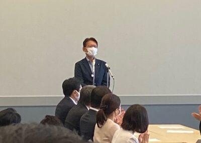 合流新党の代表に枝野幸男さんが就任