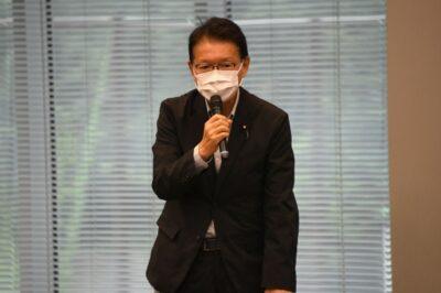 新型コロナウイルス対策本部と子ども・子育てPT、会派の厚生労働部会・文部科学部会の合同会議を開催