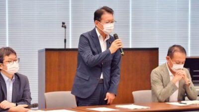 新型コロナウイルス対策本部/会派厚生労働部会・文部科学部会 合同会議が開催されました